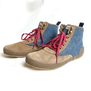 Keds ortholite wool chucka hiking boots
